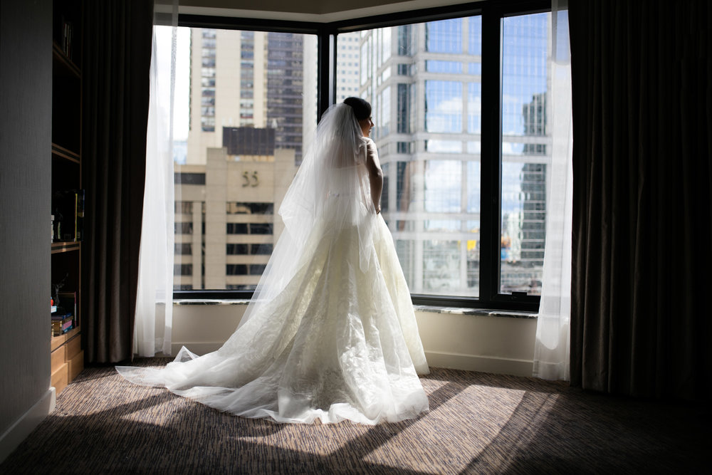 Bridal Portrait at Westin River North Chicago