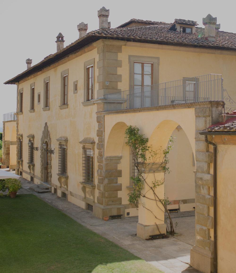 Italian villa wedding - florence, italy