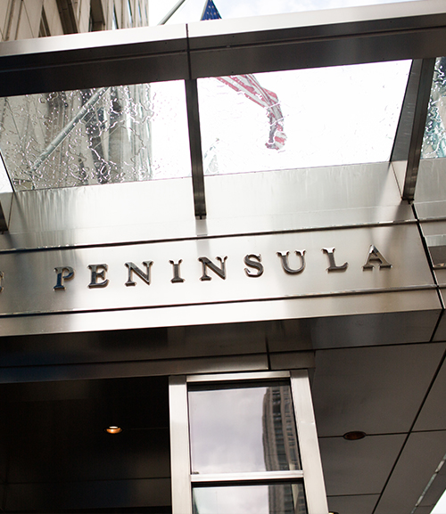 the peninsula - chicago, illinois