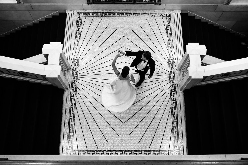 Chicago Cultural Center Wedding Photos