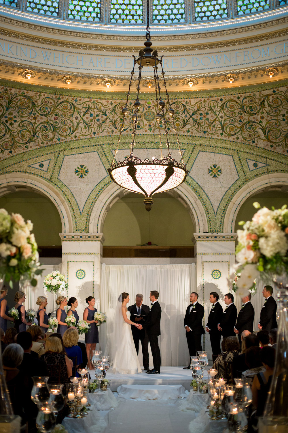 Chicago Cultural Center Wedding Photographer