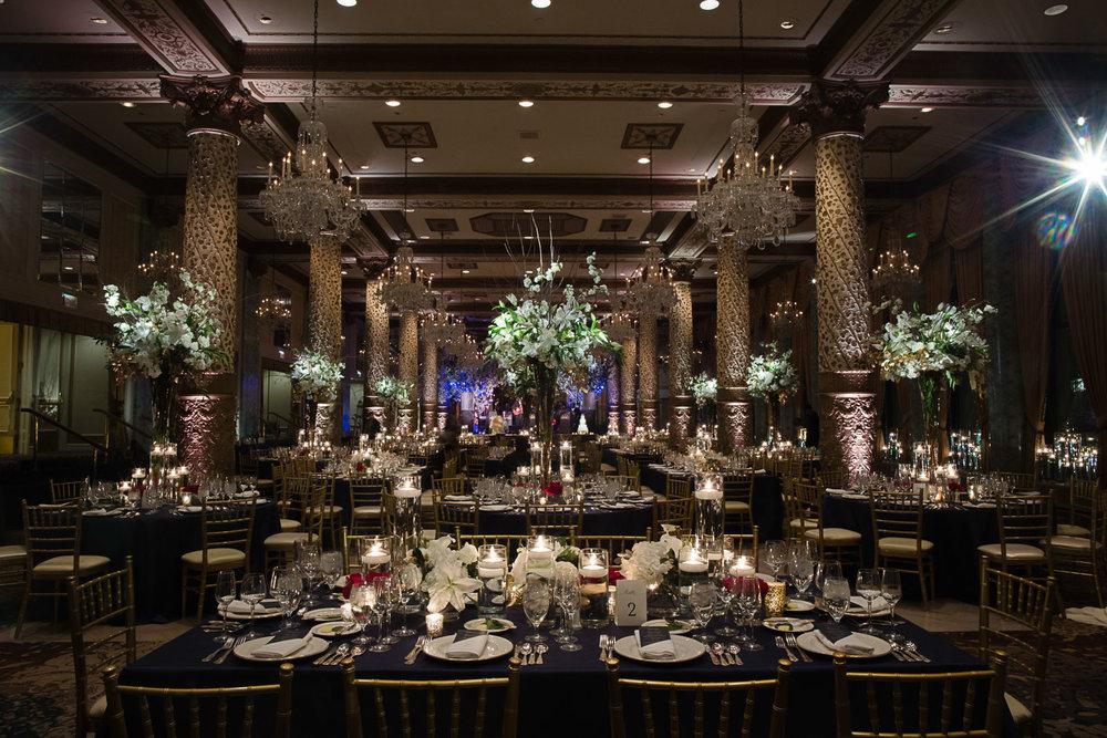 Gold Coast Room Chicago Drake Wedding