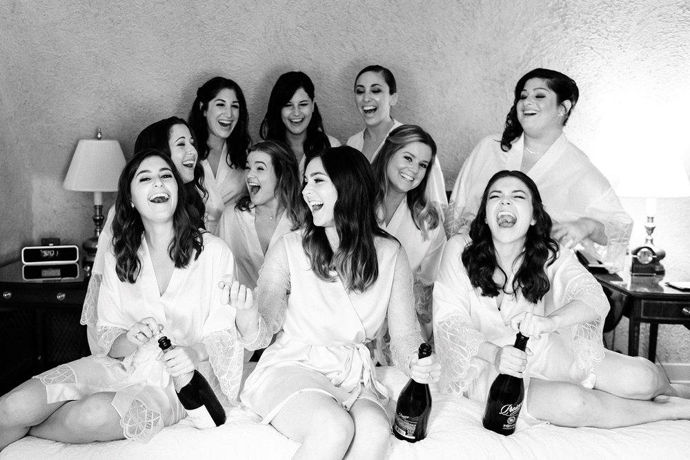 Bridal party at Riverbend Kohler