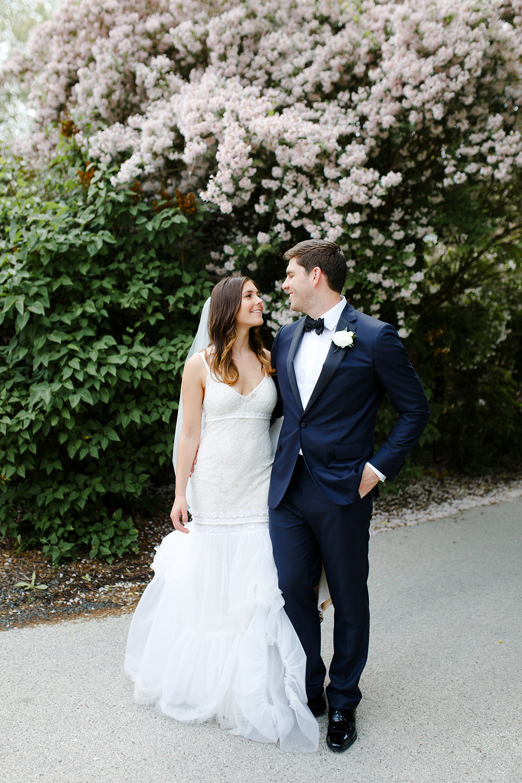Romantic garden wedding inspiration near Chicago