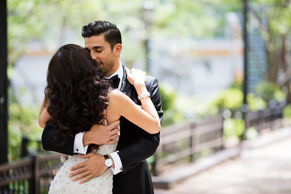 Photographing the in-between moments of a wedding day in a photojournalistic way really helps tell a complete story that will transport our clients back to the feelings and moments that passed by so quickly for them on their wedding day.