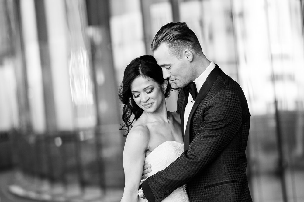 Stylish high-end wedding in Chicago