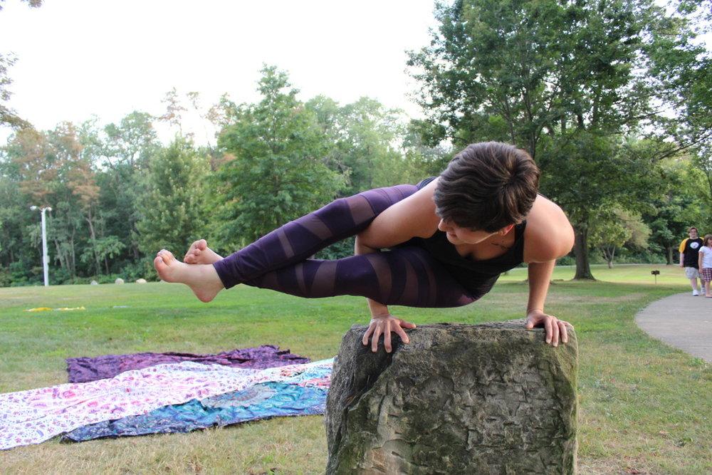 Christa Dillon Yoga Pose
