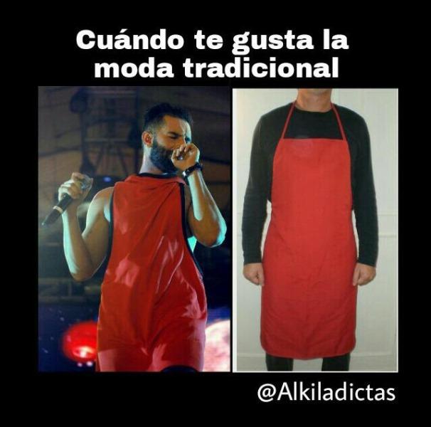 ¿En qué se inspira Juanito para vestirse? (@mapaubermudez)