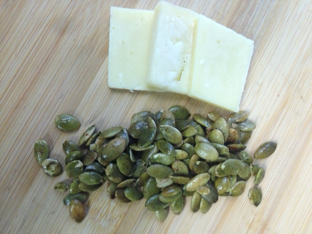 Spiced Pumpkin Seeds & Cheese.JPG