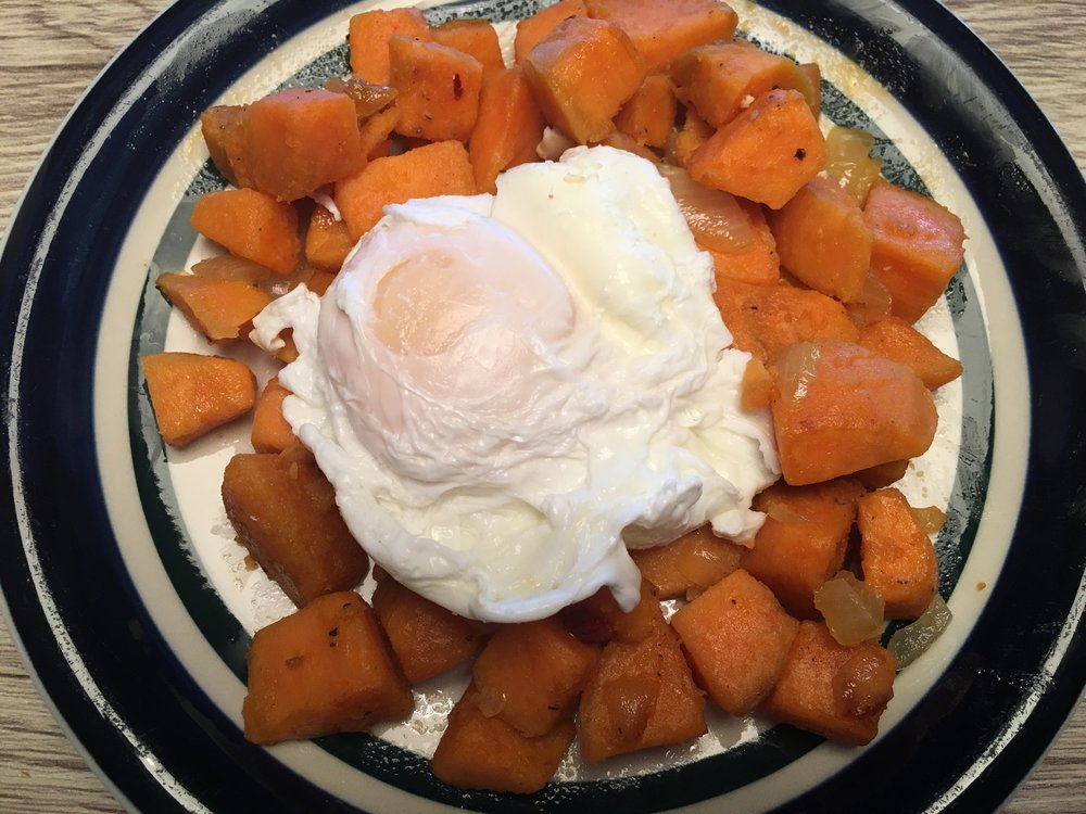 Poached Eggs & Sweet Home Fries.JPG