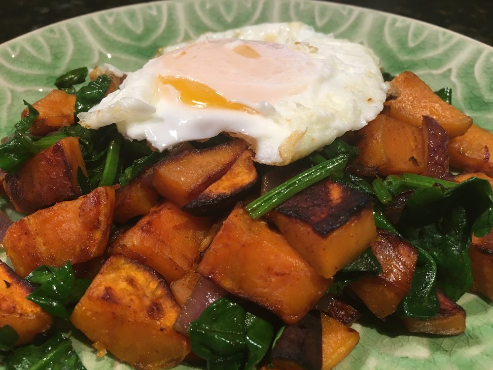 Eggs w Sweet Potato Hash.JPG