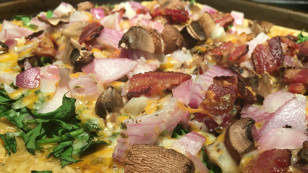 Pizza Night!  Bacon%2c Onion & Mushroom Pizza.PNG