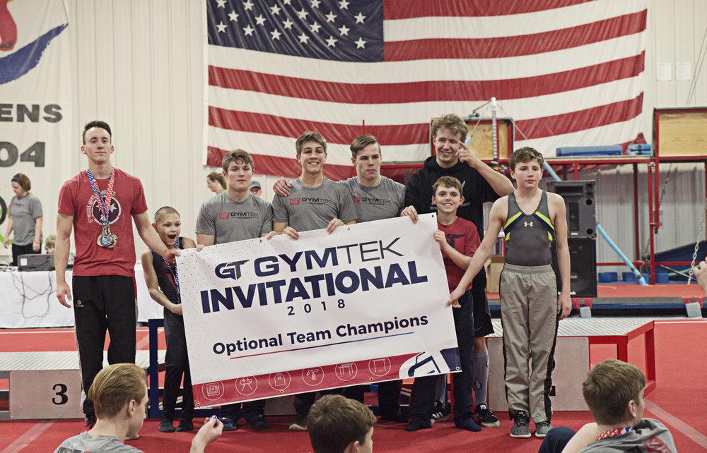 2018 Optional Mixed Team Champions  Squad A: Major Bain (captain), Ethan Boder, Jack Kimmel, Duncan Harris, Rylan Barnes, Gabriel Cox, Zach Cooper