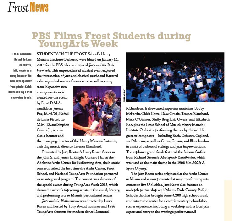 Score Magazine, Miami.
