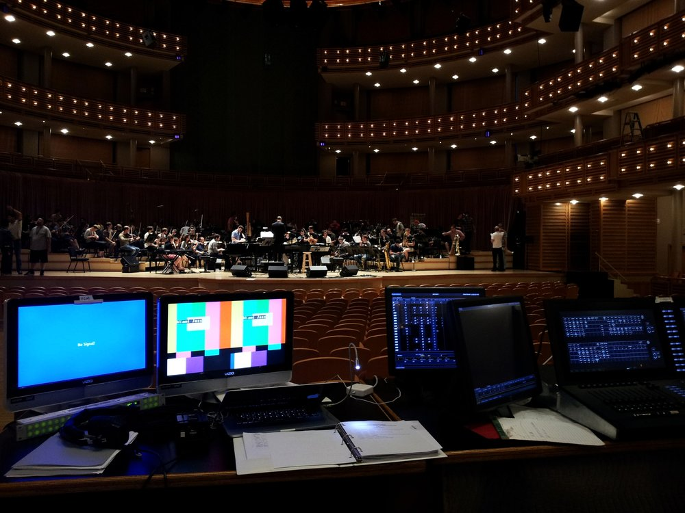 "Producer assistant for the ""Jazz and the Philharmonic"" CD/DVD and TV special at the Arsht Center of Performing Arts, Miami."