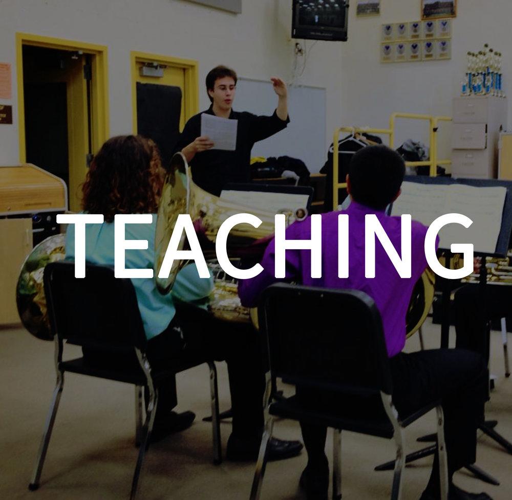 Rafael Piccolotto de Lima Teaching