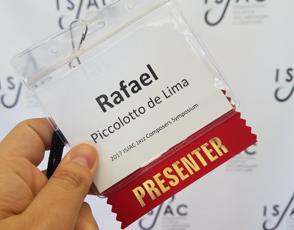 Rafael Piccolotto de Lima - ISJAC presenter