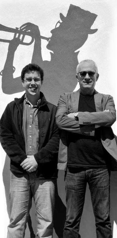 Rafael Piccolotto de Lima and Academy Award winning composer James Newton Howard.