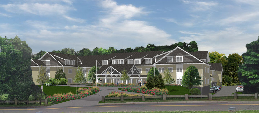 Slated to open in September 2018, Sturges Ridge at Fairfield will be the first assisted living community in Fairfield. Itwill have 88 total units: a mix of 68 studios and one- and two-bedroom apartments with access to assisted services and 20 apartments uniquely designed for those seeking 24/7 access to memory and cognitive stimulation services.