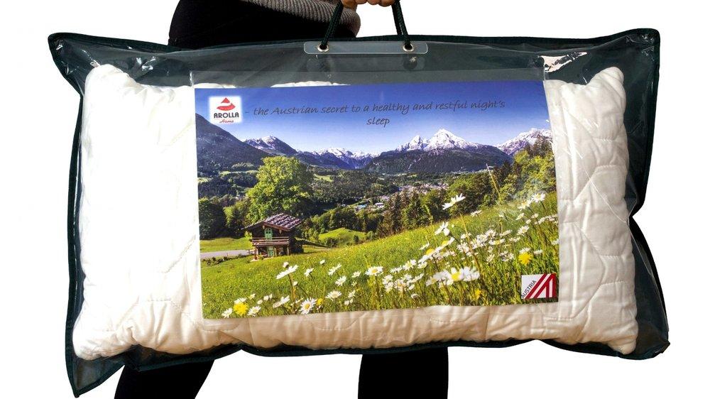 Alpenschlaf Schlafkissen mit Zirbe
