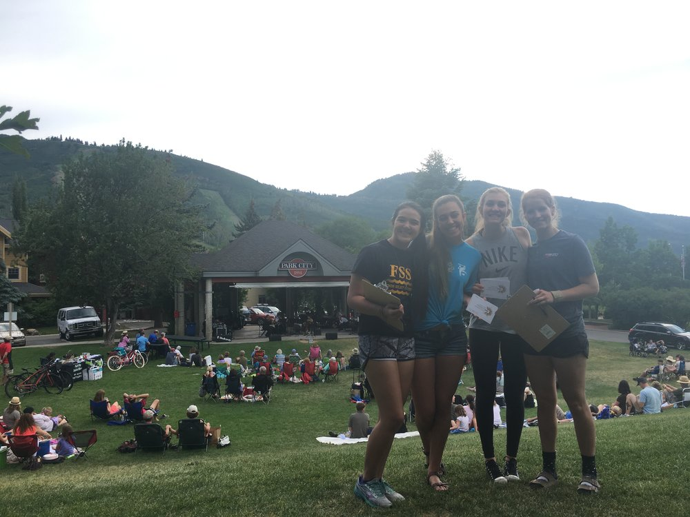 The third Youth Workgroup meeting was held at City Park in Park City on July 20, 2017. Our meeting was held alongside a Mountain Town Music concert. During our meeting, we discussed our definition of Arts and Culture and explored the idea that Arts and Culture are intrinsically tied to many aspects of life in Summit County. At the conclusion of our meeting the Youth Workgroup Members visited with patrons of the concert and spread the word about ProjectABC.