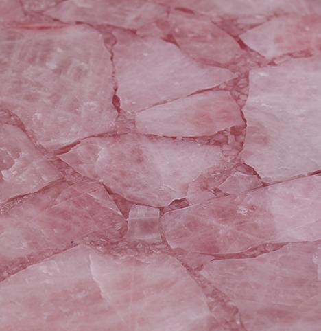 Pink Crystal Semi Precious