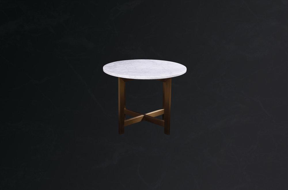 round coffee table in carrara calacata.jpg