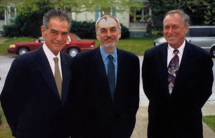 Michael Warren Powell, Lanford Wilson, and Marshall Mason.