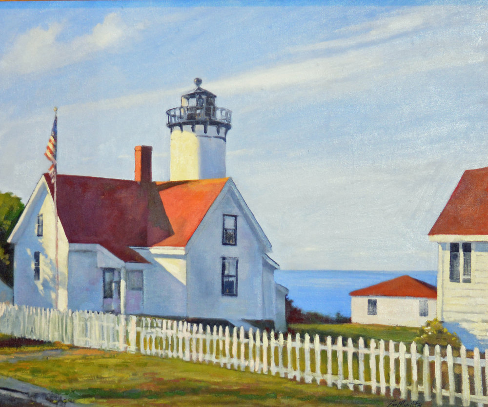 Art - Paul Hamilton Marthas Vineyard Light House.jpg