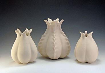 Various pod Vases