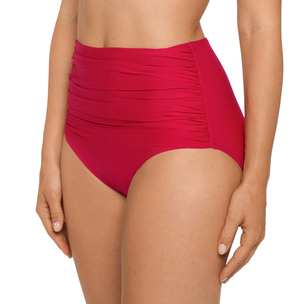 "Cocktail in ""Red Captain"" Hi-Rise Briefs by Prima Donna"