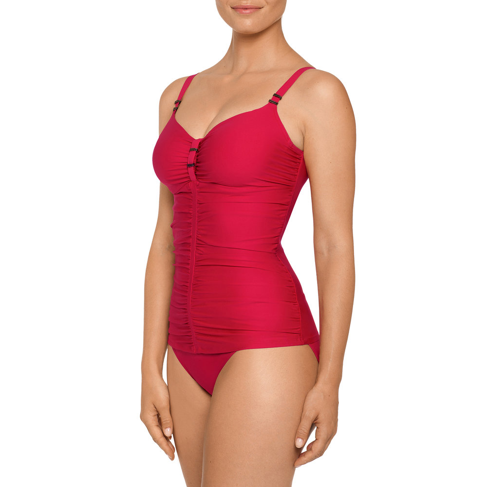 "Cocktail in ""Red Captain"" Tankini by Prima Donna"
