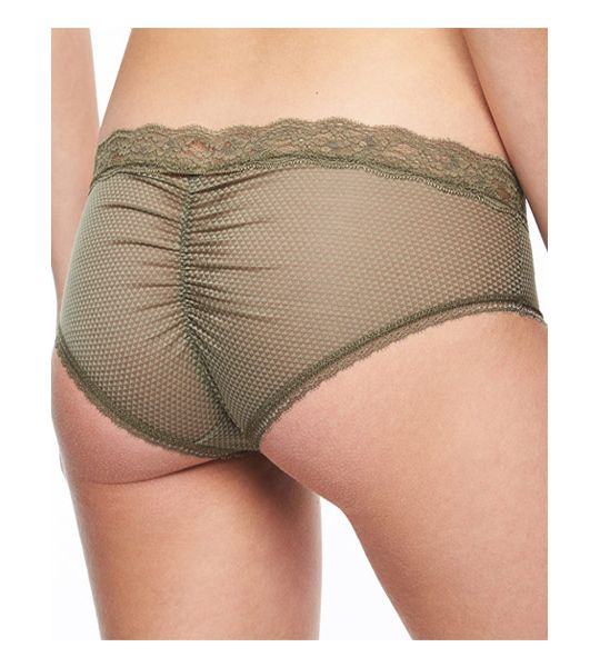 """Brooklyn"" Shorty in Khaki Green by Passionata"