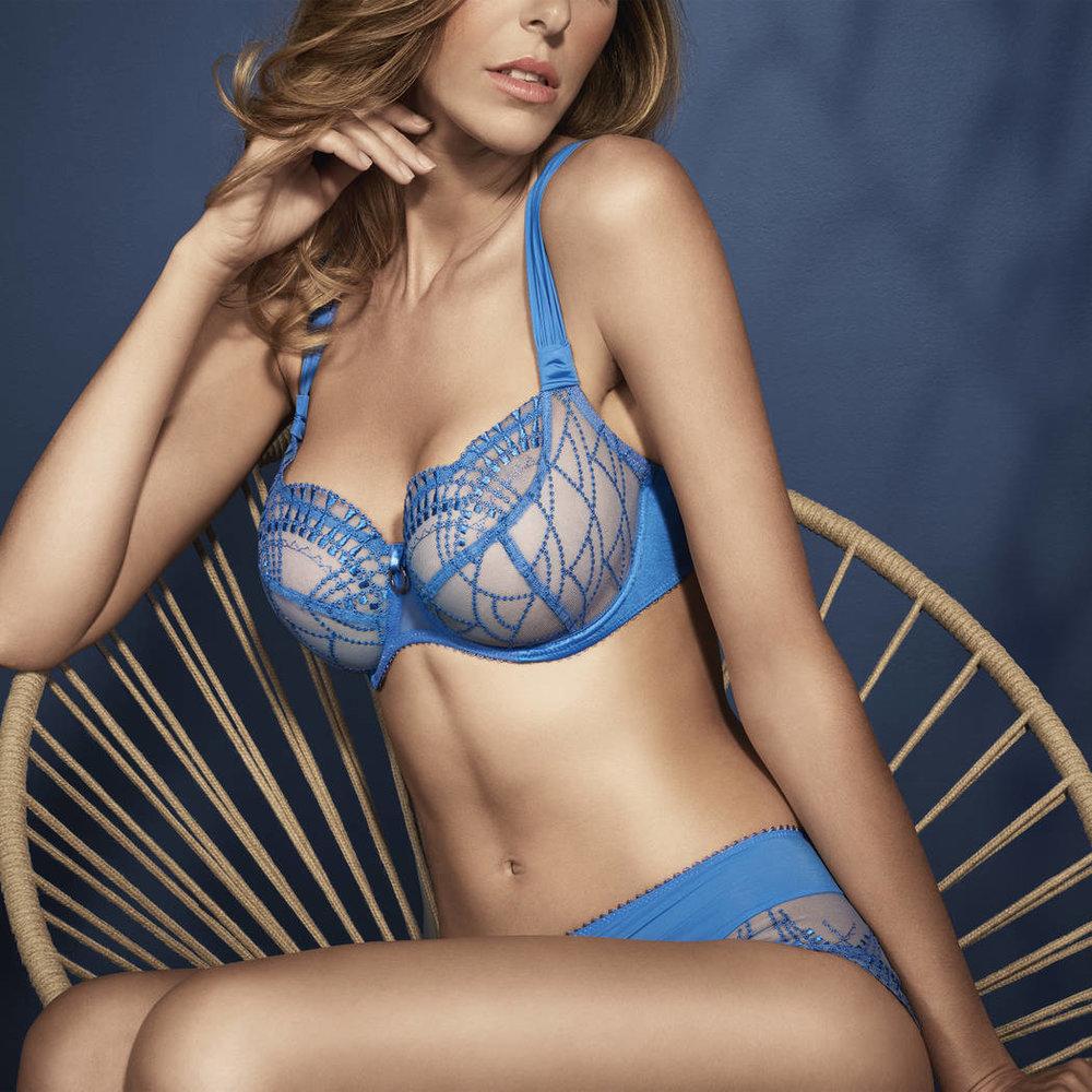 """""""Diane"""" in Bleu Royal by Empreinte"""