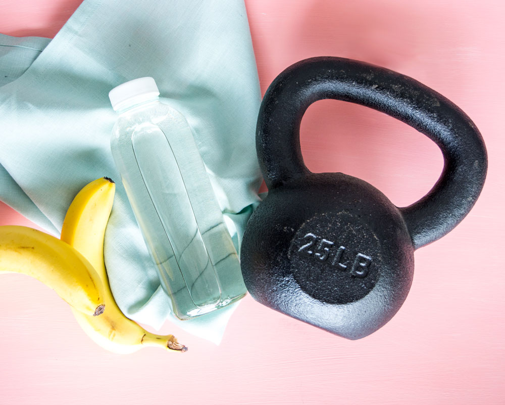 customized sweat and shine program by carolina moser