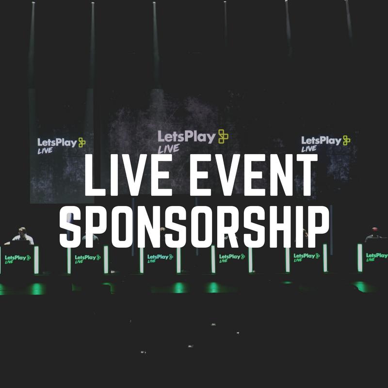 Live Event Sponsorship