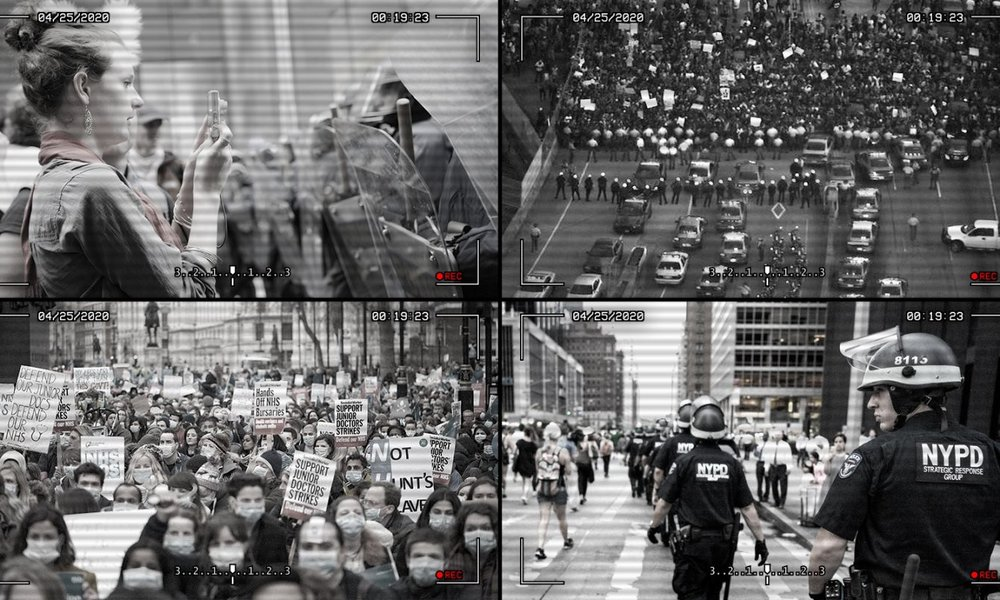A Protest, 2020 – Fusion