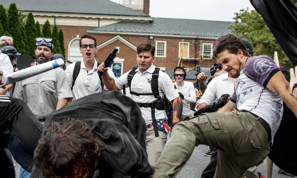 The Dark Future Charlottesville Foreshadows – Splinter   A dispatch from Charlottesville shows that there's been a war brewing for decades.