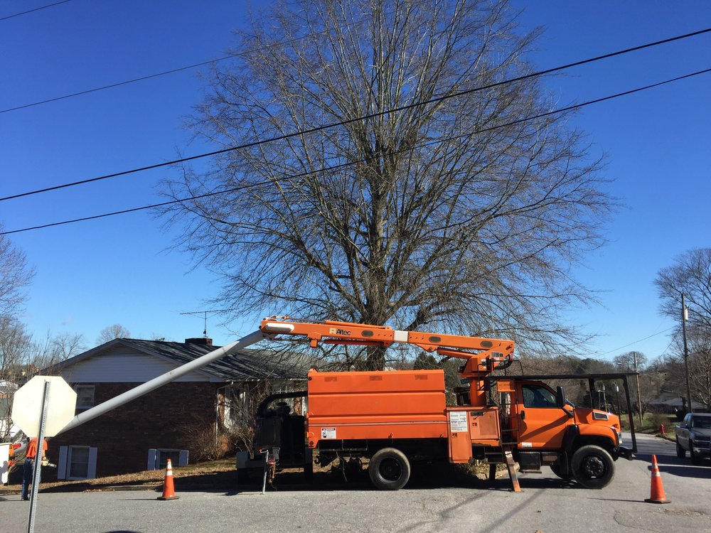 Limbwalkers Tree & Crane Service is a tree service company based in Morganton, North Carolina.