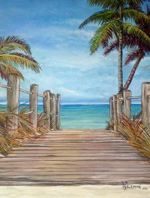 """""""Jamaica""""    10X14    Acrylic    $429"""