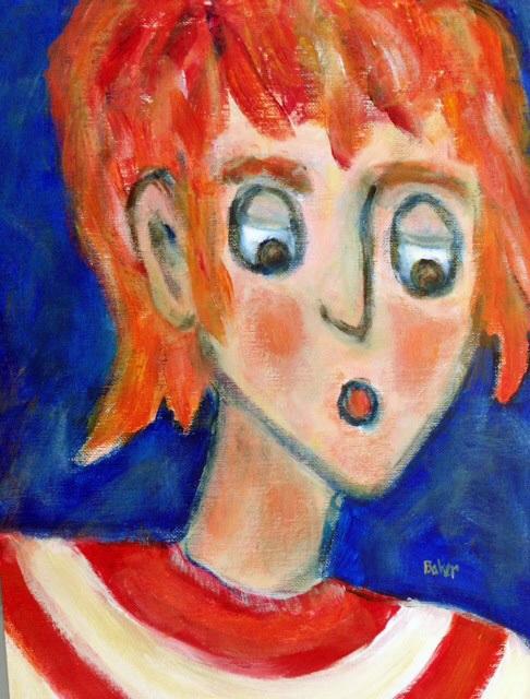 JILL  Acrylic  16x12  $50