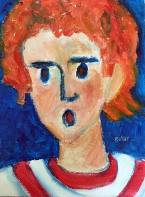 JACK  Acrylic  16x12  $50