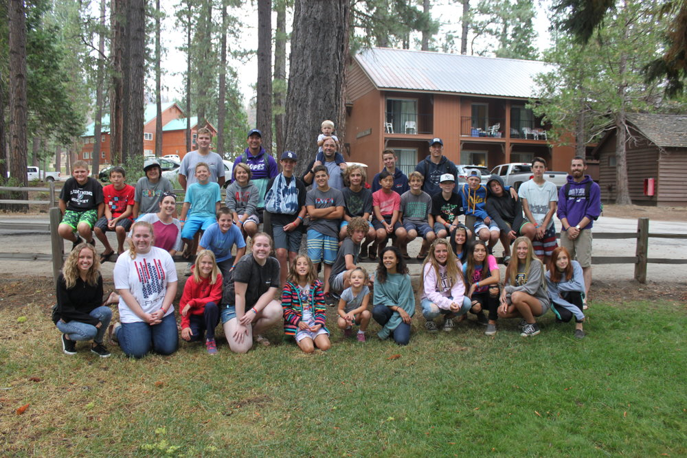 Junior high ministry at Hume Lake Christian Camp Summer 2017