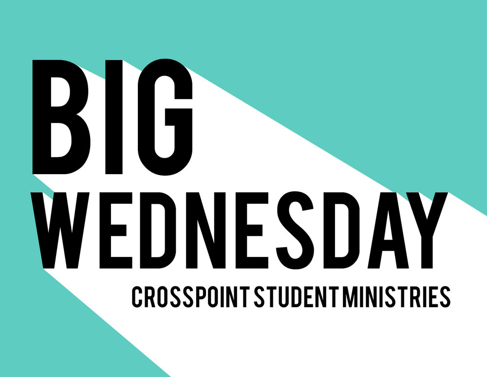 BIG Wednesday - Wednesday, May 30th from 7:00p to 9:00pBIG Wednesday is a Wednesday Night Bible Study where we go BIG by orienting the entire night around Hume Lake Summer Camp, and with that we raffle off scholarships for Hume Lake. We believe in sending every student we can to Hume Lake and we believe this is a simple and fun opportunity to help make that happen.So how does the raffle work?1. Show up, just by showing up students can be entered to win a partial scholarship towards Hume Lake. 2. Bring a friend, students who are bring friends gain an extra entry per friend to the partial scholarship raffle and new friends that come then enter a chance to win a full-ride scholarship!