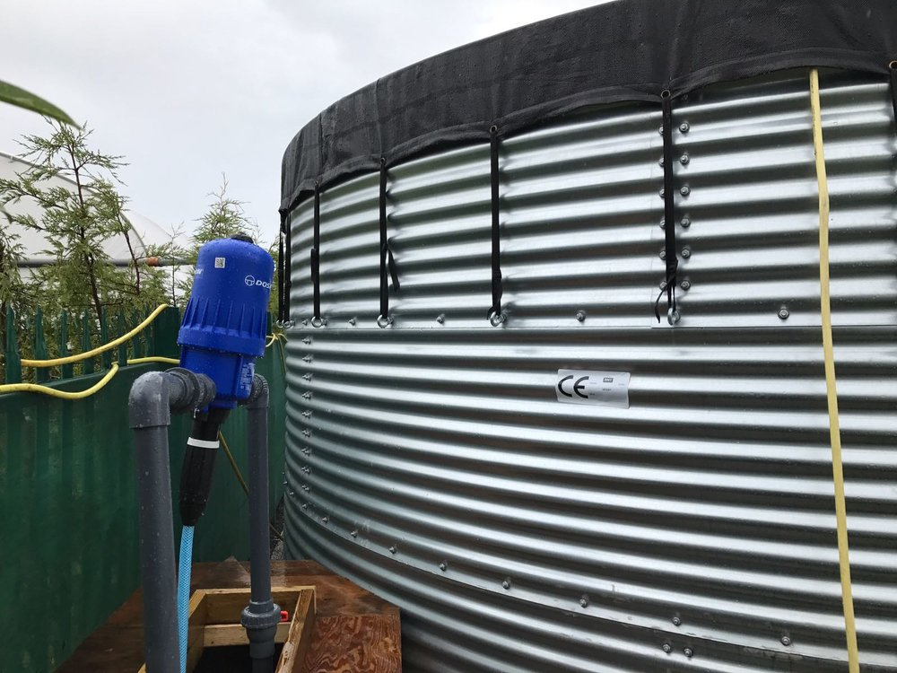Dosatron and Tank Installation.jpg