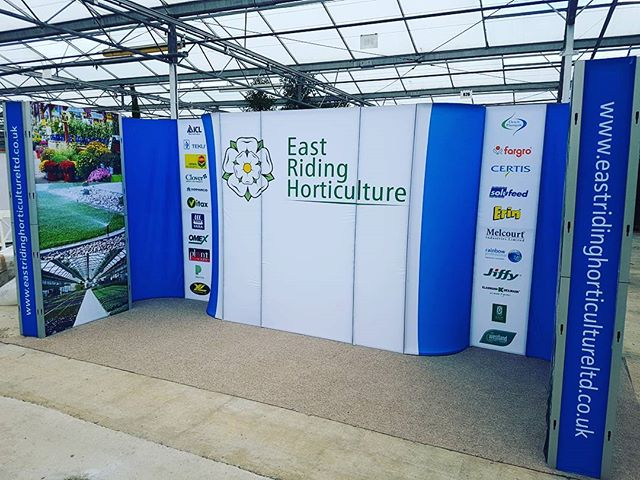 Come join us at Four Oaks. Nearly finished the stand! #fouroaks #horticulture