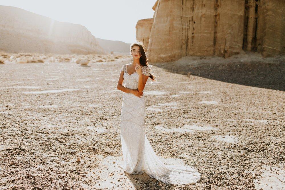 Anna Campbell Vintage-Inspired Embellished Vienna Wedding Dress
