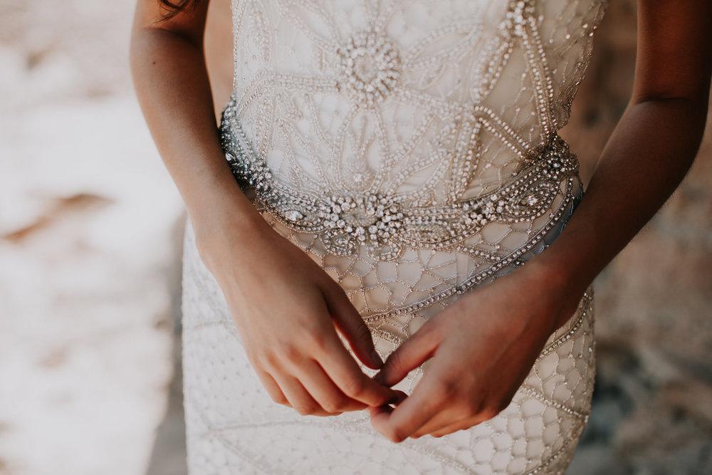Anna Campbell Vintage-Inspired Vienna Wedding Dress