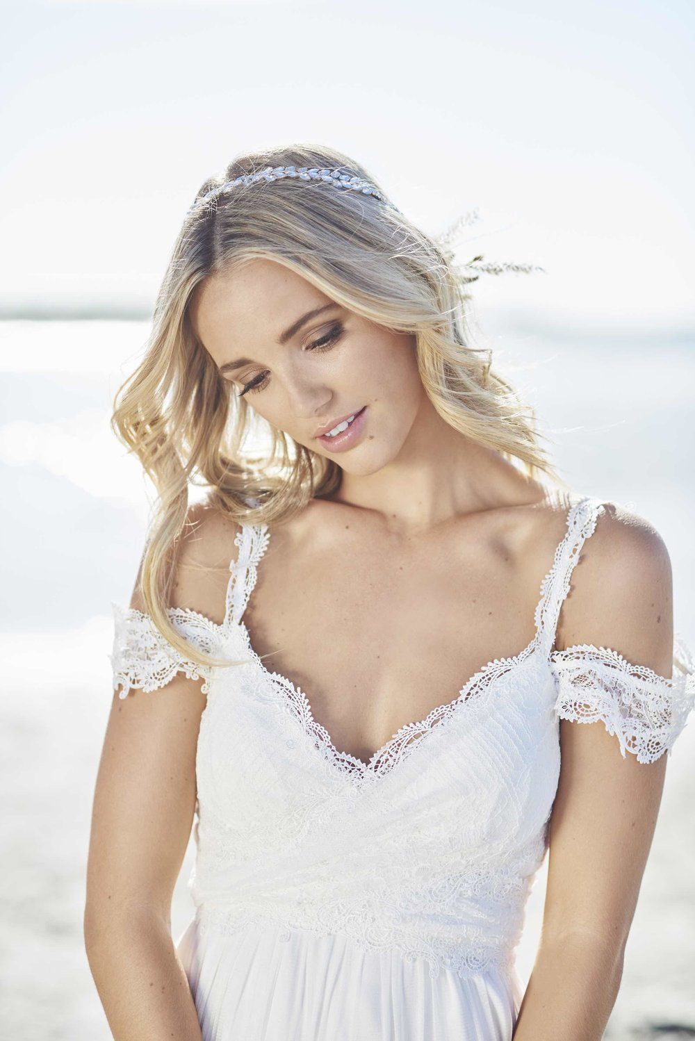 Anna Campbell Mia Dress | Vintage-inspired lace wedding dress