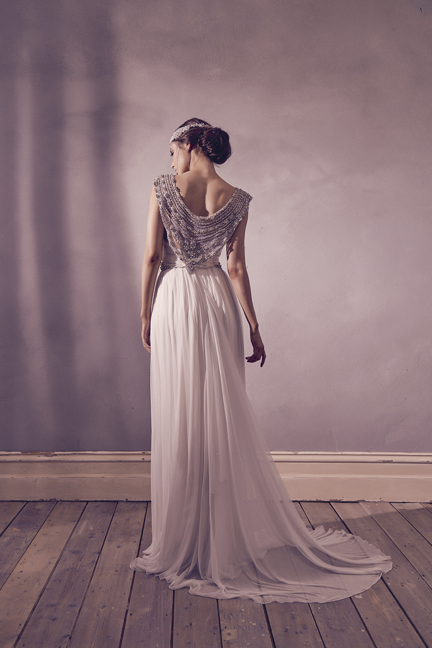 Anna Campbell Bridal Giselle Dress | Vintage-inspired embellished wedding dress